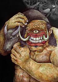 Greek Mythical Creatures Cyclops