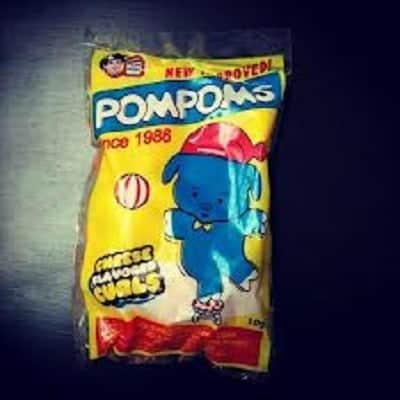 Pompoms Cheese Flavored Curls