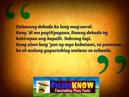 Bob Ong Quotes: Inspiring Words to Live By - FilipiKnow