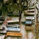 Unusual Cemetery: The Hanging Coffins of Sagada
