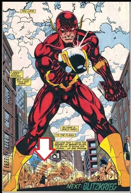 Jollibee on The Flash Comics