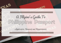 Philippine Passport Application Renewal and Requirements
