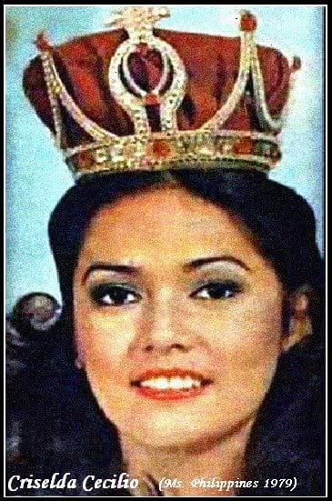 criselda cecilio filipina beauty queen facts