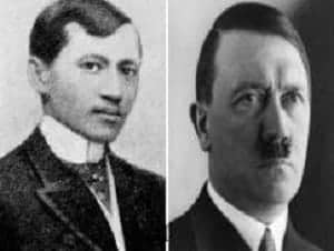jose rizal as father of adolf hitler myth
