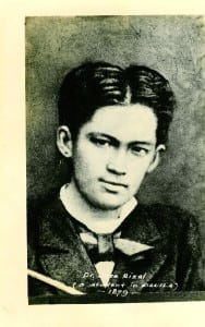 jose rizal as student in manila