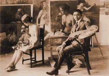 Fernando Amorsolo during his early years