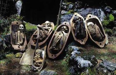 kabayan mummy burial caves