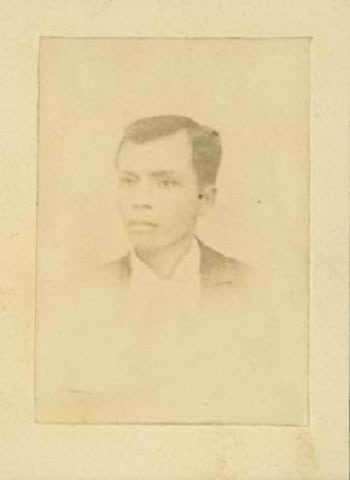 Andres Bonifacio only existing photo