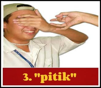 Pitik + Filipino words with no english translation