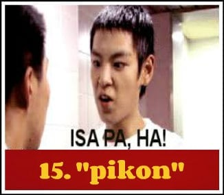 pikon + filipino words with no specific english translation