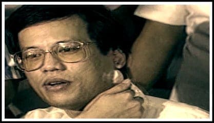 Noynoy Aquino + bullet still embedded in his neck + shocking facts about Philippine presidents