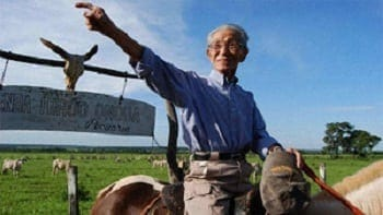 Hiroo Onoda in ranch