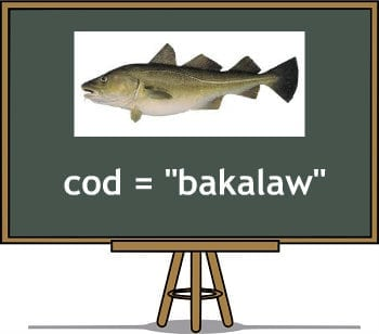 filipino translation of Cod