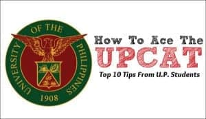 how to ace the UPCAT 10 test tips from UP students