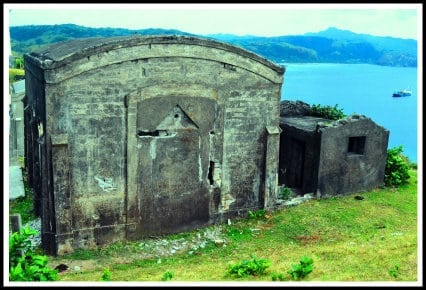 wwii ruins near basco lighthouse