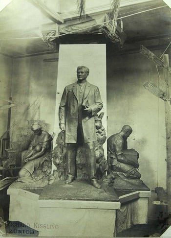 Clay model of Rizal monument