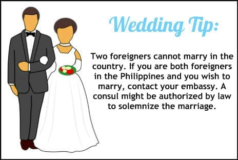 how to get married in the philippines as a US citizen
