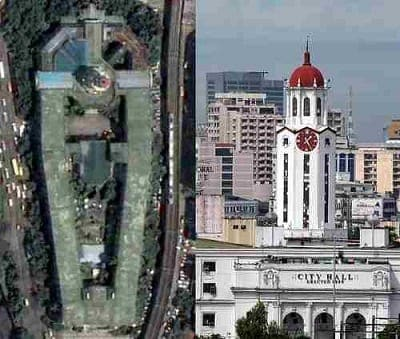 manila city hall looks like a coffin when viewed above