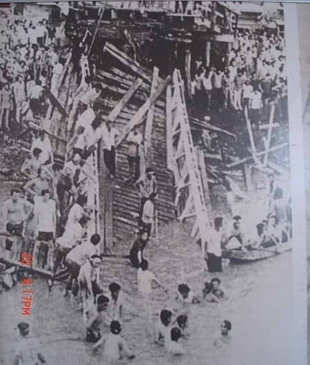 1972 Colgante Bridge Tragedy in Naga City