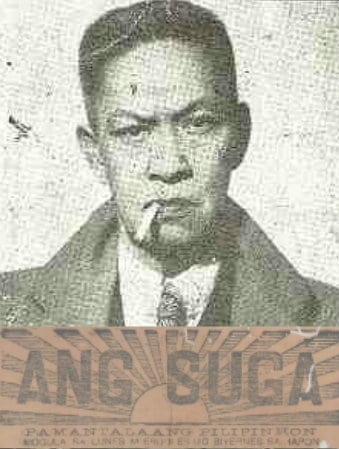 Ang Suga the first Cebuano newspaper founded by Vicente Sotto