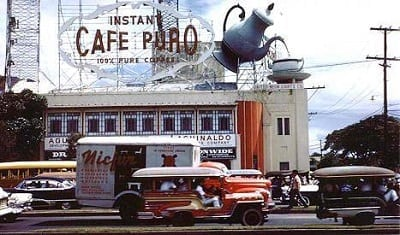 Cafe Puro 3D billboard