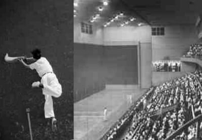 Jai alai games in Manila