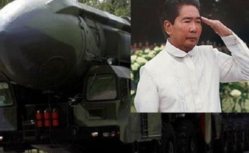 ferdinand marcos knew about the nuclear weapons secretly stored in the Philippines by the US