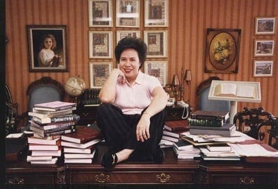 miriam defensor santiago library