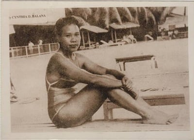 miriam defensor santiago swimsuit