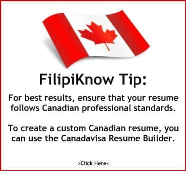 Canadavisa Resume Builder