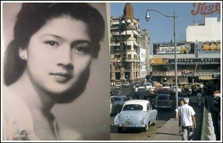 Imelda Marcos once worked as a sales girl at a music store in Escolta