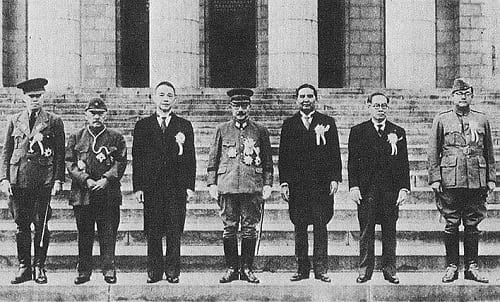 Jose Laurel during the 1943 Greater East Asia Conference