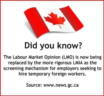 Labour Market Opinion Canada