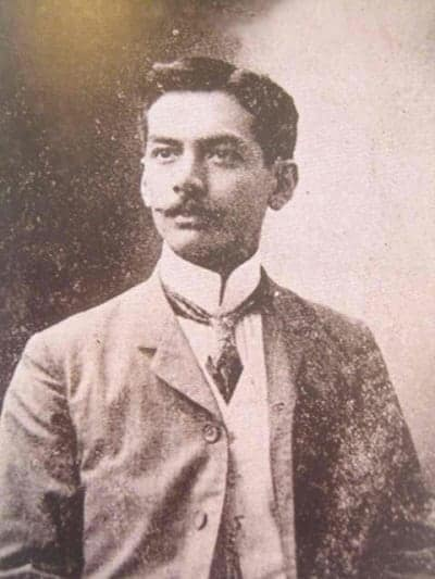 Manuel Quezon as representative of Tayabas