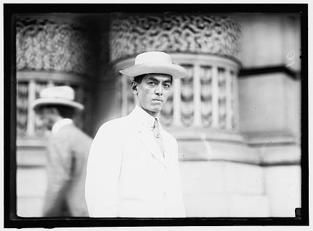 Manuel Quezon in Democratic National Convention