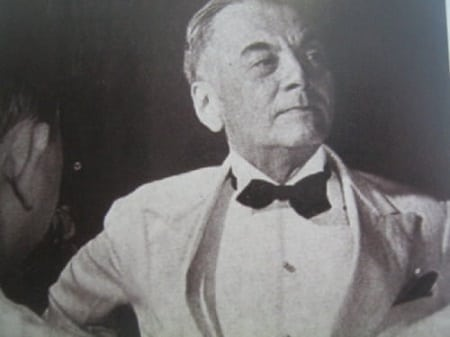 Manuel Quezon in suit