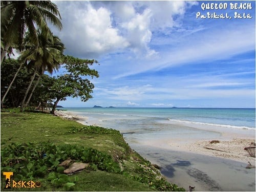Quezon Beach in Patikul, Sulu