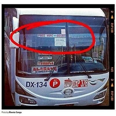 funny bus signboards in the Philippines