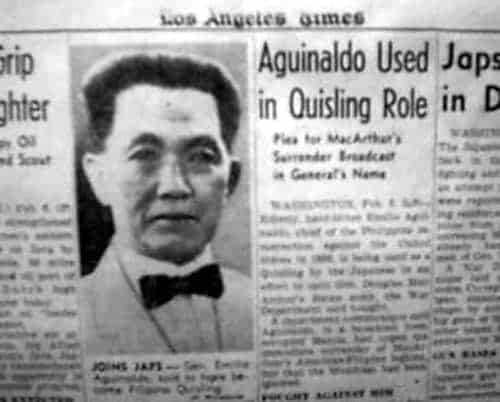 emilio aguinaldo cause of death