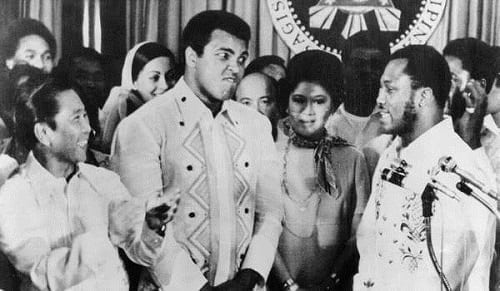 Muhammad Ali and Joe Frazier's Presscon at Malacañang Palace