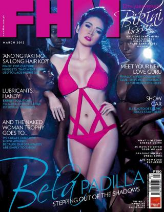 Bella Padilla FHM cover