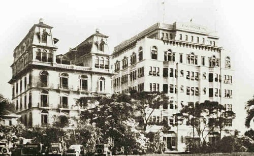 University Club Building in the 1930s