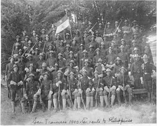 African American soldiers in the Philippines