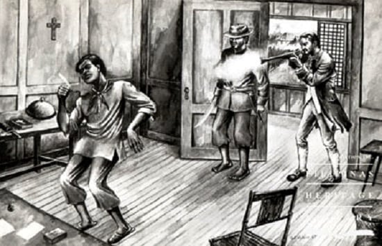 Assassination of Diego Silang by Miguel Vicos