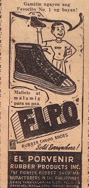 Elpo Rubber Shoes