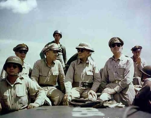 General Douglas MacArthur in the Philippines