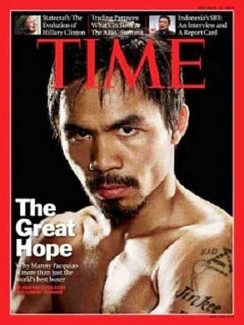 manny pacquiao time magazine