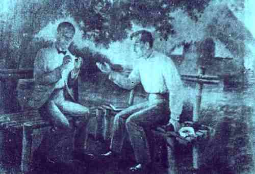 meeting-of-Dr.-Jose-Rizal-and-Dr.-Pio-Valenzuela-in-Dapitan