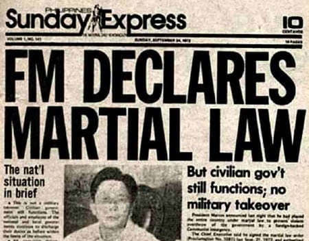 martial law philippines