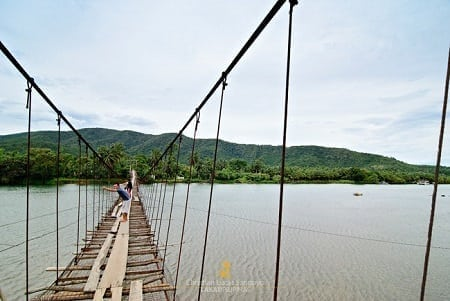 Tibag-Sabang Bridge in Baler